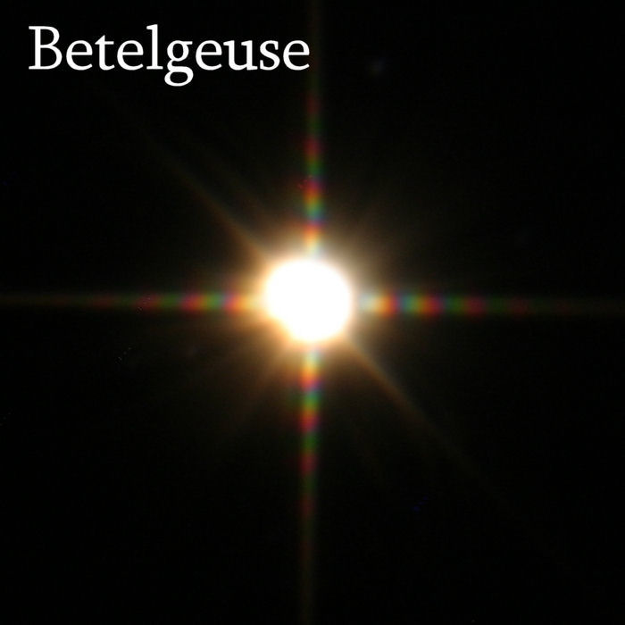 betelgeuse star compared to the sun - photo #27